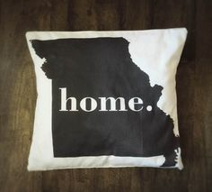 Missouri pillow cover by CCurate on Etsy