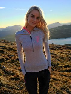 Faser in Norwegian landscape! Camilla Sweater in Drirelease.