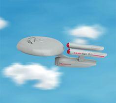 Star Trek U.S.S. Enterprise Frisbee Disc