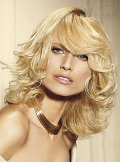 Life Graceful Remy Long Wavy about 14 Inches Blonde Wig 100% Real Human Hair. Get Sizzling discounts up to 80% Off at Wigsbuy using Coupon and Promo Codes.