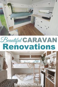 caravan renovation ideas 307018899599544323 - These beautiful Viscount caravan renovations showcase some great Aussie DIY talent! Taking these tired old trailers and giving them a new lease on life. Source by aimeejjefferson Caravan Renovation Before And After, Caravan Renovation Diy, Diy Caravan, Caravan Decor, Caravan Ideas, Small Caravans, Vintage Caravans, Vintage Caravan Interiors, Vintage Campers