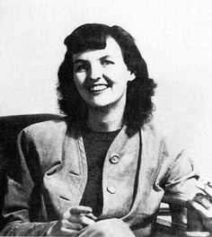 """Jessica Mitford, late 1930s. Though her sisters Unity and Diana were well-known British supporters of Hitler and her father was described as being """"one of nature's fascists"""", Jessica (always known as Decca) renounced her privileged background at an early age and became an adherent of communism. She was known as the """"red sheep"""" of the family."""