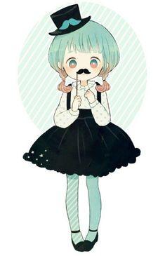 Resultado de imagem para anime girl kawaii