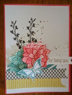 handmade by Julia Quinn  -    Independent Stampin' Up! Demonstrator: Nature's Perfection