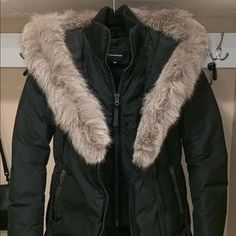 Mackage Kay Winter Down Jacket Mackage Jacket, Down Coat, Fur Collars, Mid Length, Fur Coat, Jackets For Women, Winter, Things To Sell, Fashion