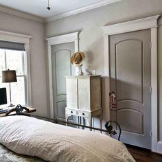 sherwin williams comfort gray bedroom   with Sherwin Williams Comfort Gray grey bedroom door grey bedroom ...
