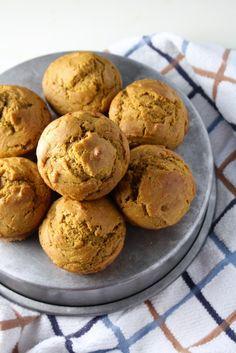 super soft whole wheat pumpkin muffins