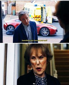 "Sherlock S04 EP02 ""The Lying Detective"". Season 4. <<<BUT WHEN HE WAS GOING TO SAVE SHERLOCK SHE LET HIM OMG YAZ"
