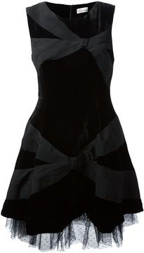 6abd37580f1 RED Valentino Sleeveless Bow Detail Dress  fashion  style Valentino Black