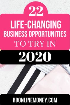 Do you want to start an online business? Here is a list of 22 proven Online Business Opportunity - Money Making Ideas That Work at Home. Learn more!