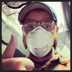 """Everyone say hi to our Exhibits Manager, Eric! He took a Cave Explorers today as he works on his very long """"To Do"""" list to spruce up the museum.while simultaneously working on new exhibit elements for the new Play Patio! Children's Museum, Say Hi, Exhibit, Cave, It Works, Profile, Take That, Patio, Selfie"""