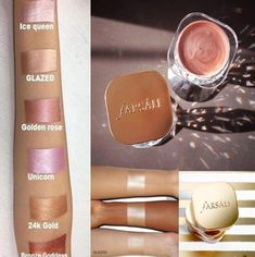 Jelly Beam Cream Highlighter, Glow Foundation, Ice Queen, Natural Glow, Beams, Jelly, Beauty Products, Lipstick, Bronze