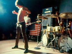The Stooges on stage! Rock Band Photos, Rock Bands, Metal Bands, Classic Rock And Roll, Rock N Roll, Iggy And The Stooges, Proto Punk, The Cramps, Iggy Pop
