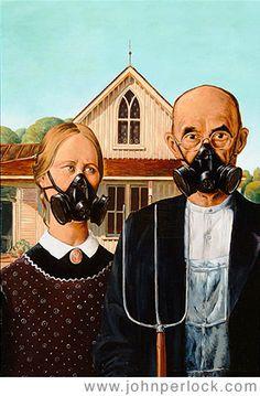 American Gothic - Farm Safety | Copyright John Perlock 2005.… | Flickr