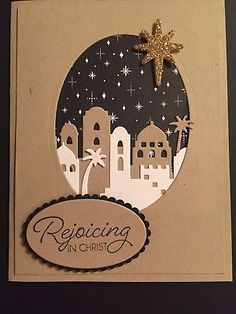 Stampin Up Night In Bethlehem Christmas Card Kit