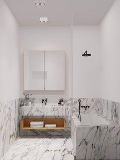 Un apartamento en Nueva York, con ese estilo romántico de lo más femenino.
