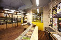 La Fabriquede L'ÉCLAIR DE GENIE Patisserie by Retail Access, Paris – France » Retail Design Blog
