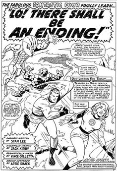 Fantastic Four, Jack Kirby