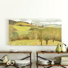 Tuscan View Art