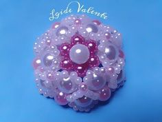 YouTube Flor Angelica, Beaded Jewelry, Handmade Jewelry, Jewelry Crafts, Beading, Youtube, Flowers, Diy, Rose Of Sharon