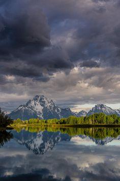 ✮ Grand Tetons and Stormy Skies - Beautiful!