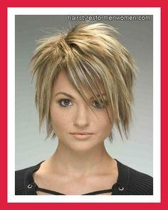 Short Choppy Hairstyles for Thin Hair 16