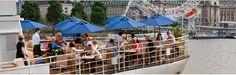 H.S. Hispaniola - bar/restaurant on a boat on the Thames.
