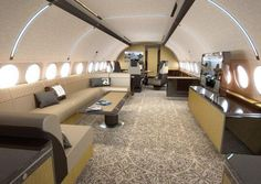 Airbus' New Corporate Jet Interior