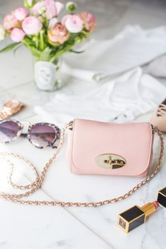 Mulberry Rose Mini Lily Bag- Peony Lim More