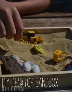 This is flipping genius!! It's so relaxing to even just drag your fingers in the sand at the beach. Definite GREAT idea!