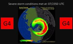 SOLAR storm warning as sixth massive flare in just four days spotted Aurora Forecast, Weather Predictions, Severe Storms, Flare, Universe, Fit, Shape, Cosmos
