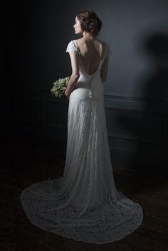 halfpenny london lace wedding dres