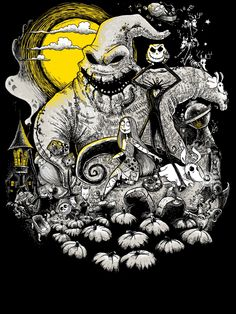 The Nightmare Before Christmas ... one of my favourites ...obviously #timburton