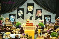 decoração festa harry potter - Pesquisa Google