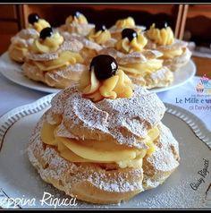 Fancy Desserts, Italian Desserts, Delicious Desserts, Sweet Recipes, Cake Recipes, Dessert Recipes, Churros, Almond Paste Cookies, Confort Food