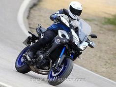 Moto-Station essaie la Yamaha MT-09 Tracer