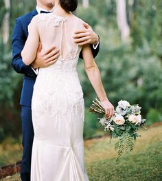 gorgeous dress detailing | Stewart Leishman