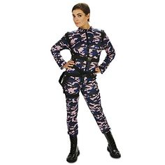 Paratrooper Female Jumpsuit Adult Costume S ** Check this awesome product by going to the link at the image.