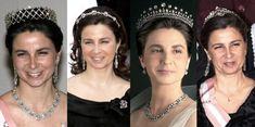 Royal Crowns, Royal Tiaras, Tiaras And Crowns, Diamond Pendant Necklace, Diamond Jewelry, Portuguese Royal Family, Portugal, Royal Jewelry, Jewellery