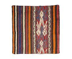 Funda de cojín kilim de lana y algodón Arij - 40x40 cm