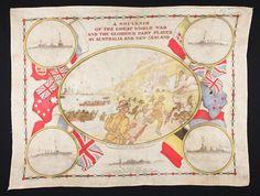 Scarf - 'Souvenir of the Great World War', Gallipoli, circa 1915