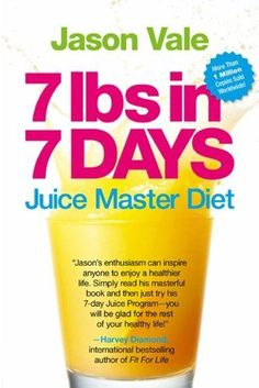 7 Lbs in 7 Days: The Juice Master Diet by Jason Vale http://www.amazon.com/dp/0007929080/ref=cm_sw_r_pi_dp_1qxewb1EZCAAD