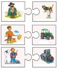 This page has a lot of free easy Community helper puzzle for kids,parents and preschool teachers. Preschool Education, Preschool Themes, Preschool Worksheets, Preschool Crafts, Crafts For Kids, Bilingual Kindergarten, Kindergarten Activities, Activities For Kids, Community Workers