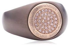 Emporio Armani Damen-Ring Edelstahl EGS1638200-8