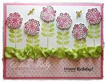 Stampin Up Sweet Summer Stamp Set - Yahoo Image Search Results Fall Birthday, Happy Birthday, Bday Cards, Flower Cards, All Things Christmas, Tree Branches, Handicraft, Stampin Up, Art Pieces