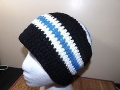 ▶ Crochet Gorro de Adulto (Masculino) - YouTube