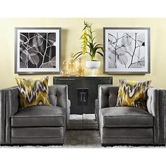 Royce Corner Chair | Chairs | Living Room | Furniture | Z Gallerie