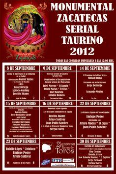 Serial taurino de Zacatecas 2012