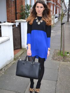 Two-Tone Zara Dress
