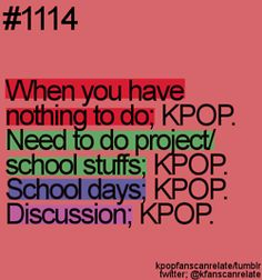 yes. Especially when surrounding people don't listen to K-pop, just whip out your phone! :D